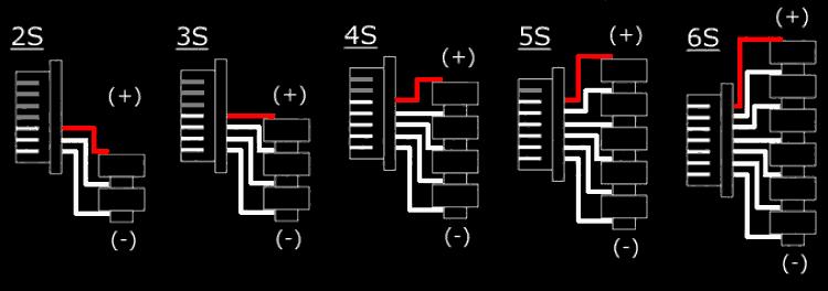 Балансувальний роз'єм, схема підключення