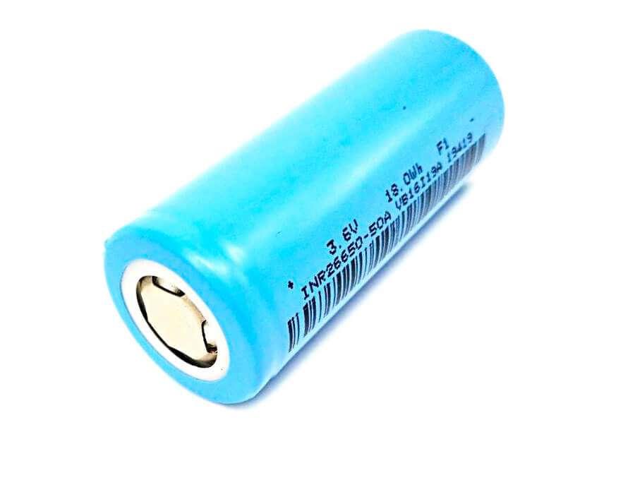 LiitoKala 26650 5000mAh(голубой);